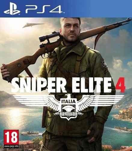 juego ps4 sniper elite
