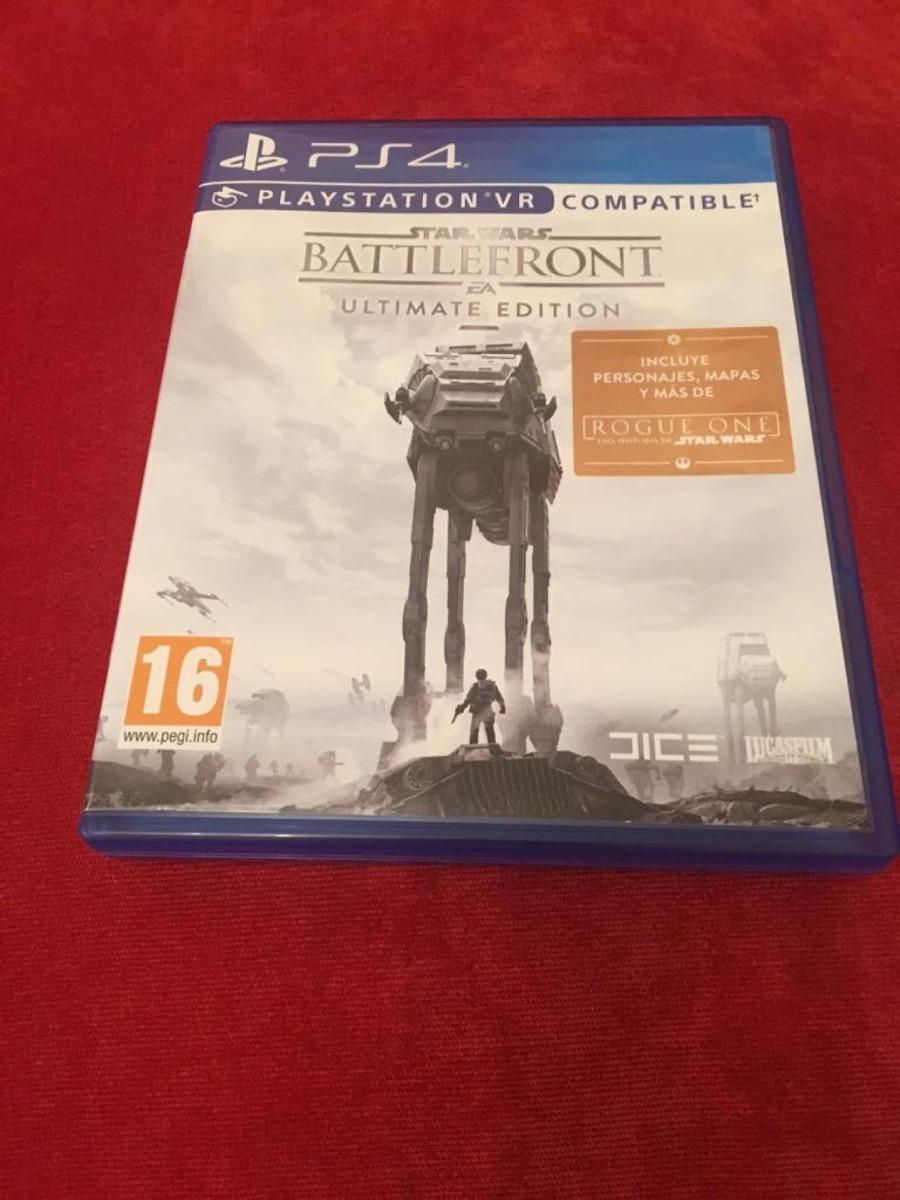 Juego Ps4 Star Wars Compatible Con Vr 560 00 En Mercado Libre