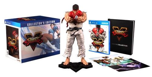 juego ps4 street fighter v edicion coleccionista