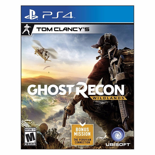 juego ps4: tom clancy´s ghost recon: wildlands