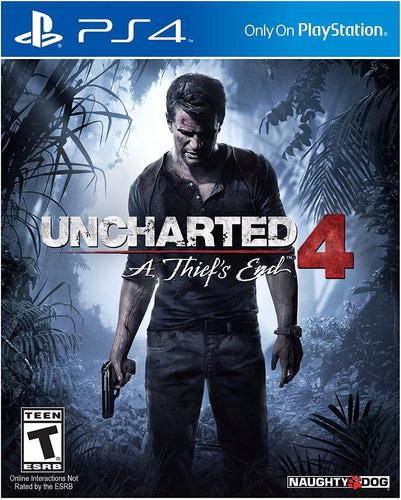 juego ps4 uncharted 4 fisico playstation 4 nany41