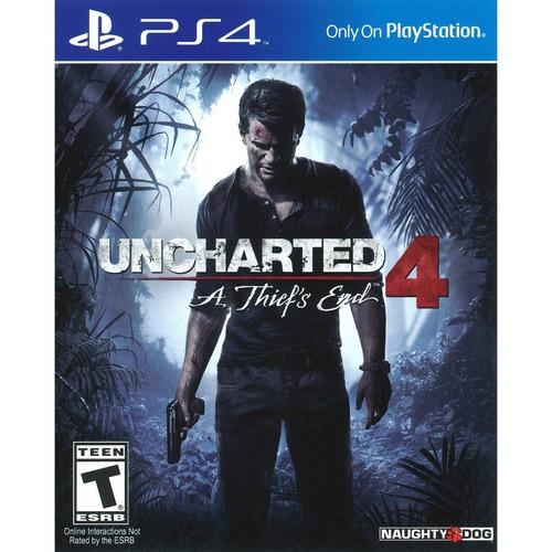 juego ps4 uncharted 4 hits bundle español latino