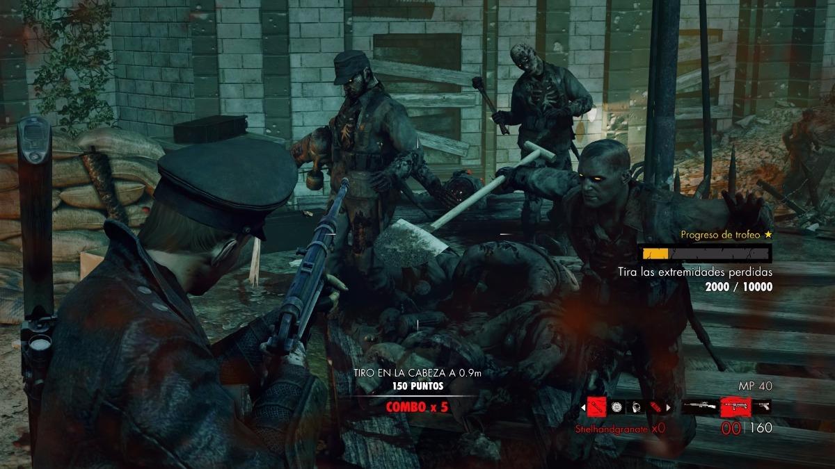 Juego Ps4 Zombie Army Trilogy 6 Cuotas S Int 2 111 06 En