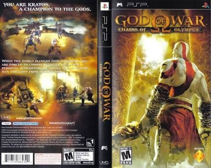 juego psp god of war chains of olympus