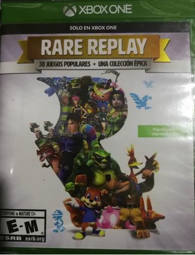 juego rare replay xbox one nuevo sellado