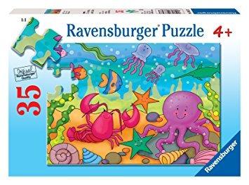 juego ravensburger debajo del mar - 35 piezas del rompecabe
