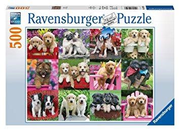 juego ravensburger del perrito pals - puzzle (500 piezas)