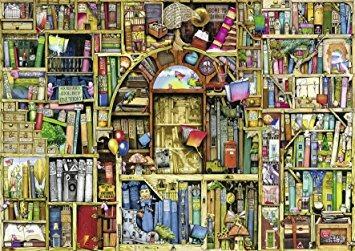 juego ravensburger extraño librería 2 jigsaw puzzle (1000 p