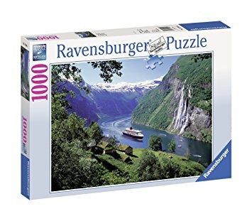 juego ravensburger fiordo noruego - 1000 pieza del rompecab