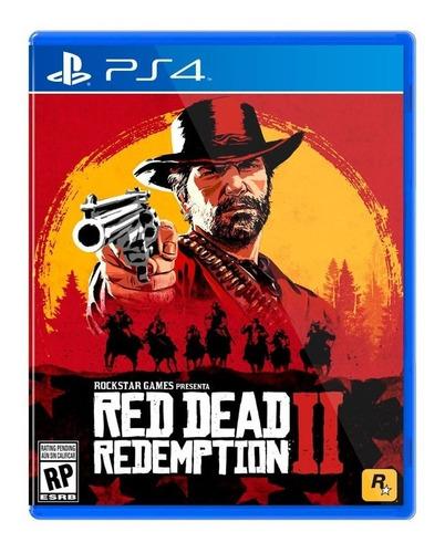 juego red dead redemption 2 playstation 4 fisico