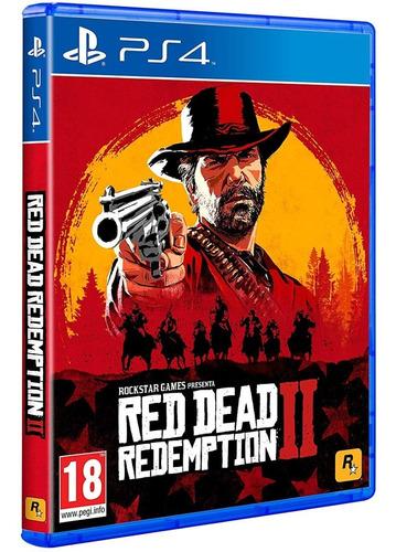 juego red dead redemption 2 ps4 formato fisico sellado