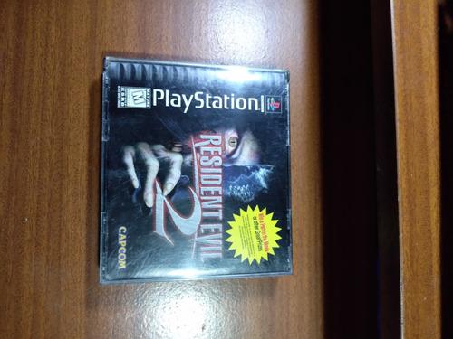 juego resident evil 2 para ps1 original