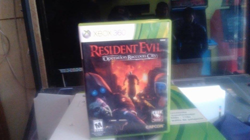 juego resident evil operation raccoon city xbox 360
