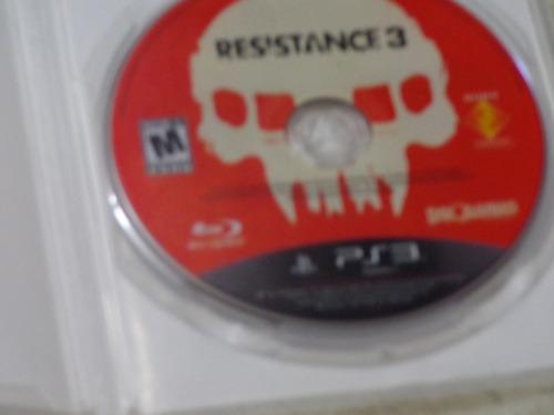 juego resistance 3 para ps3