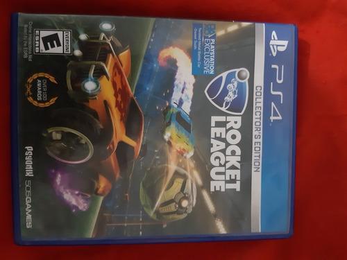 juego rocket league collector's edition para playstation 4