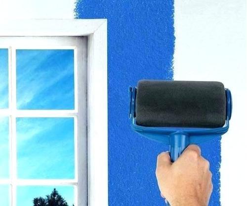 juego rodillo pintar paredes tu casa paint roller