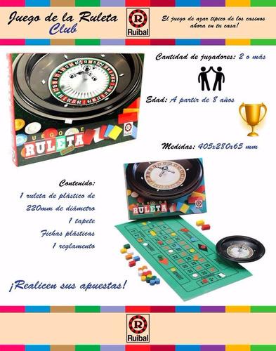 juego ruleta club ruibal juguetería marruecos rosario