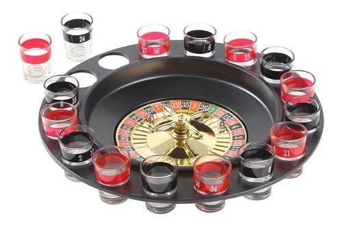 juego ruleta shots juego de mesa para tomar shot 16 piezas