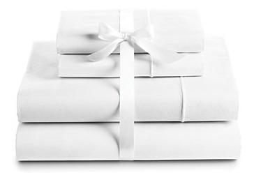 juego sábanas blanco liso hotel 180 h t35 doble