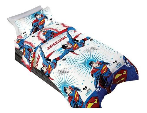 juego sabanas infantiles 1 1/2 plz batman superman trolls