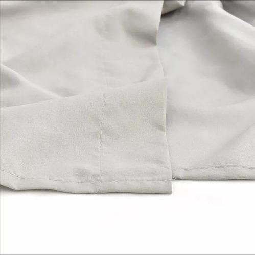 juego sábanas matrimonial simples viasoft gris basic vianney