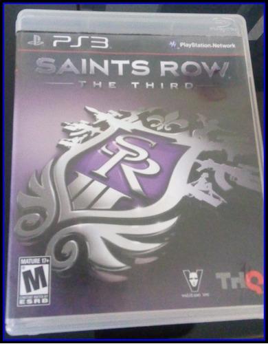 juego saints rows the third para ps3