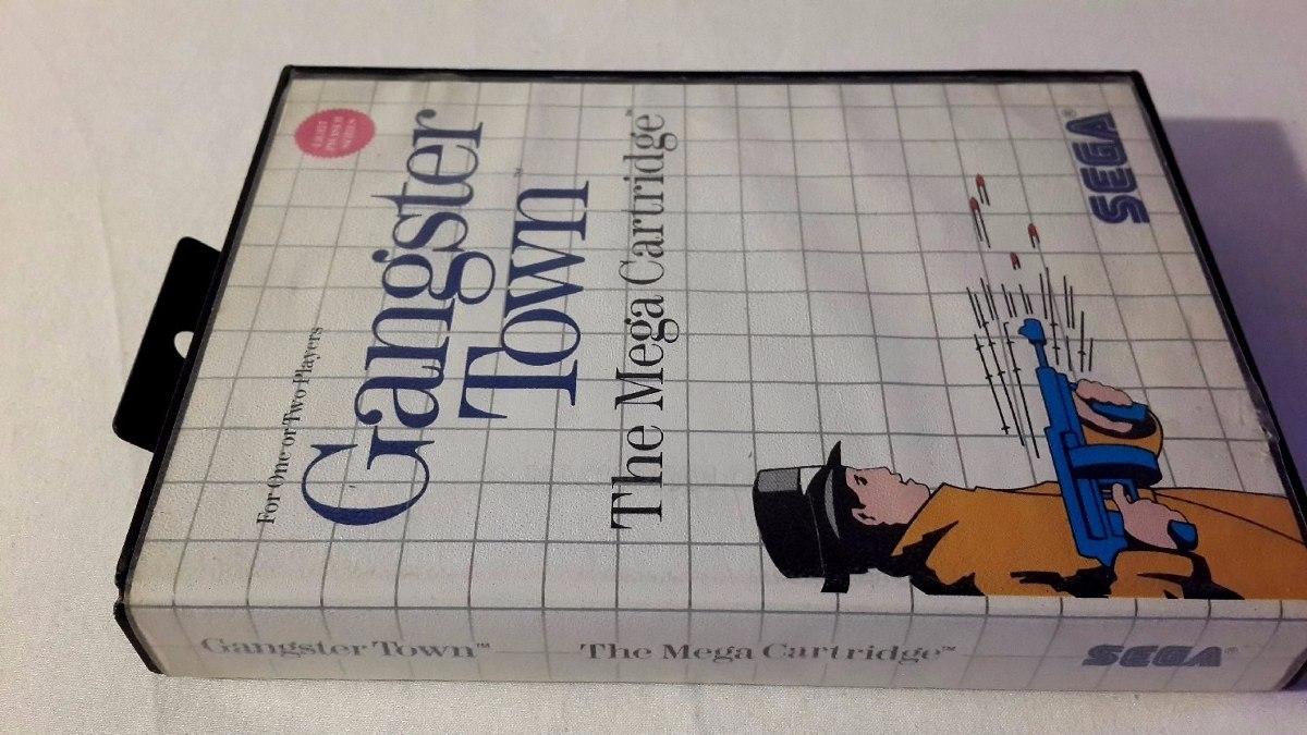 Juego Sega Master System Testeado Sega Gangster Town 999 99 En