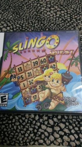 juego sellado slingo bingo  para ds sellado