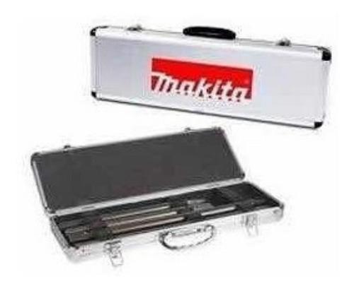 juego set cinceles makita 4 pzas sds -max d-40630 + maletin