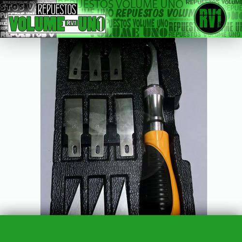 juego set de cuchillas diversos usos  11 x 1