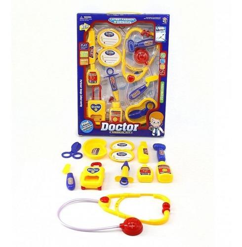 juego set de doctor en caja para niños jueguete edu