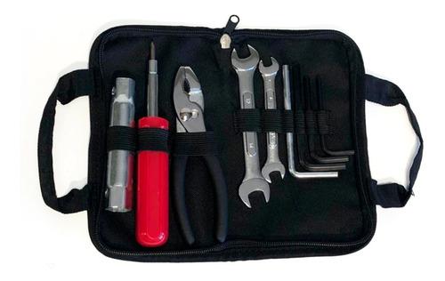 juego set de herramientas 8 piezas llaves para moto estuche