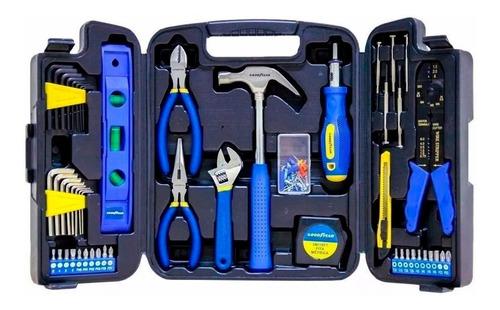 juego set de herramientas good year 129 piezas maletín 5009