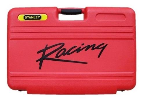 juego set de herramientas stanley racing 150 pcs profesional