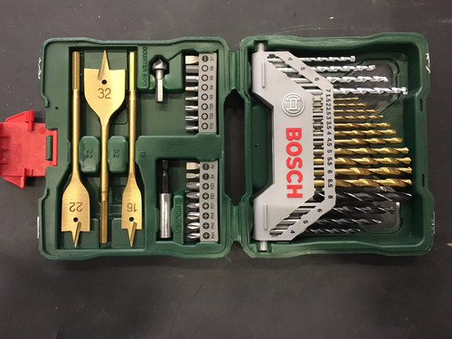 juego set de mechas y puntas bosch promoline 40 piezas x40ti