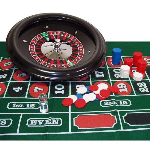 juego set de ruleta profesional trademark global 16