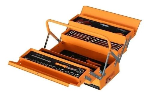 juego set herramientas tipo fuelle caja lusqtoff 64 lqcp125