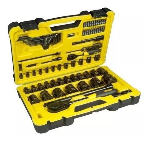 juego set herramientas tubos stanley tech3 stmt81213 78 pzas