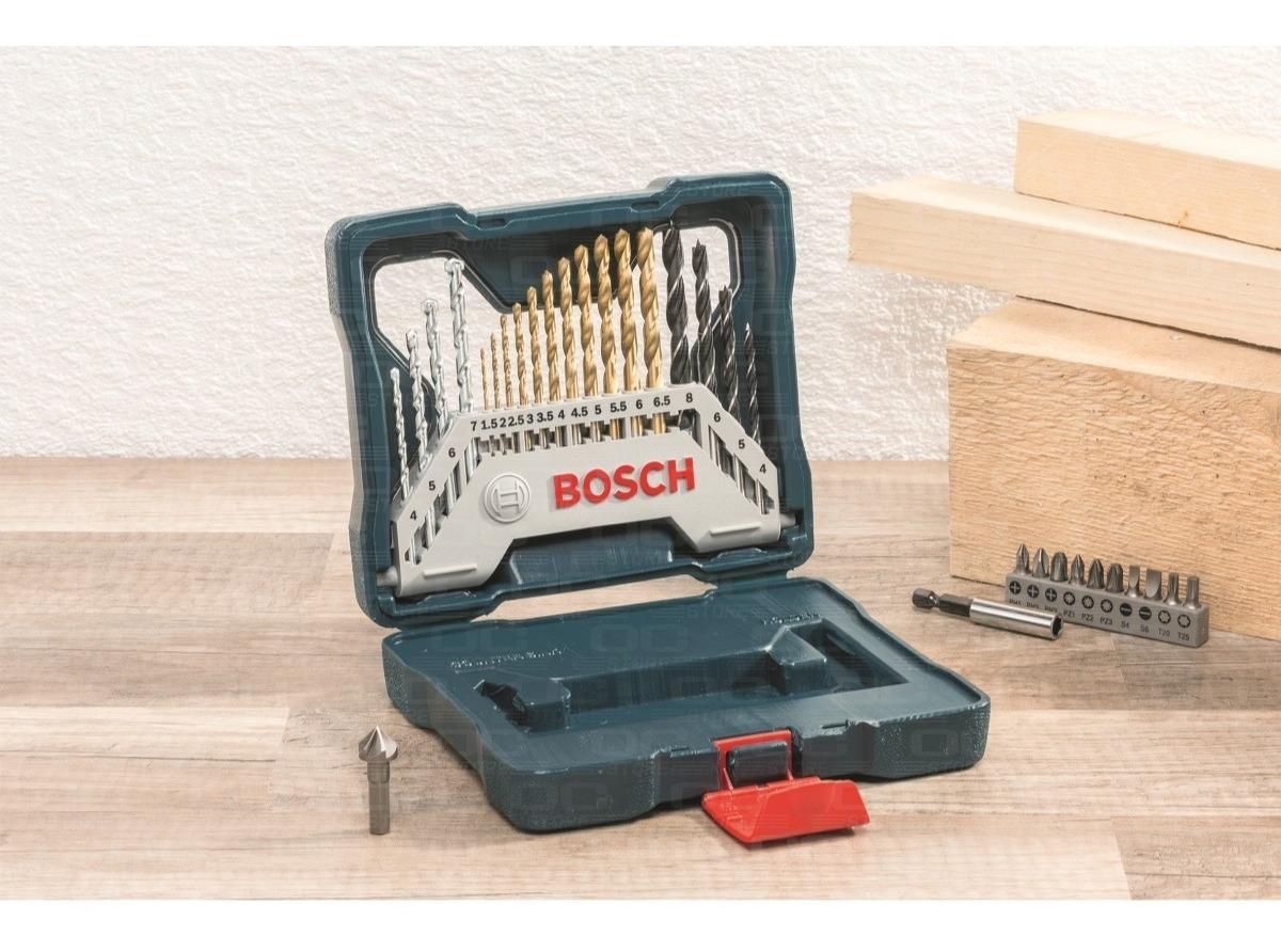 NUEVO Bosch X-Line piedra y metal Conjunto de 15 brocas para madera