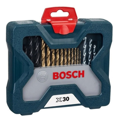 juego set kit bosch mechas puntas fresador titanio 31 pzs