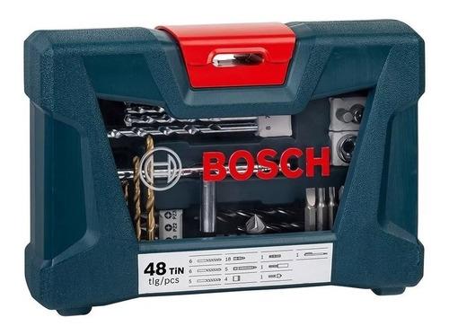 juego set kit bosch mechas puntas fresador tubos iman 48 pzs