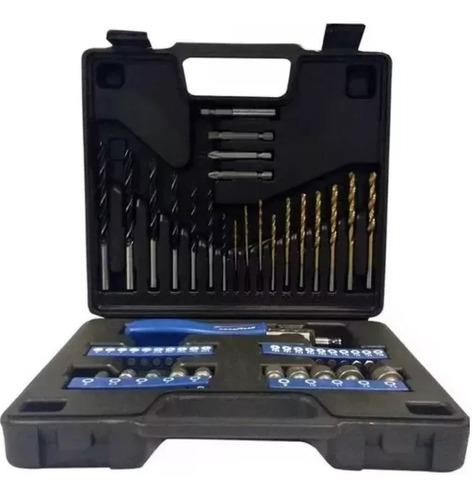 juego set kit herramientas good year 52 piezas valija mechas