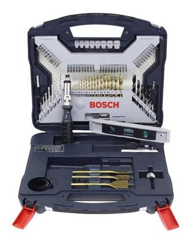 juego set kit mechas puntas destornillador bosch 100 piezas