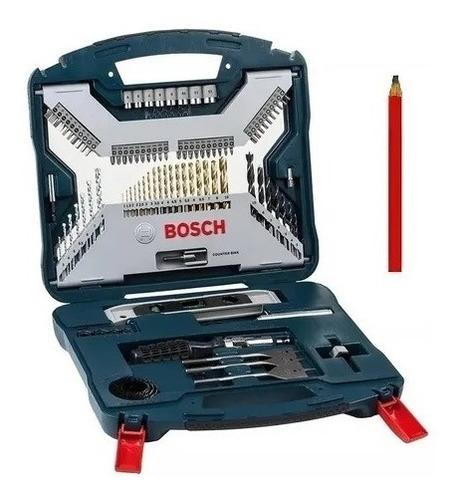 juego set kit mechas puntas destornillador bosch 100 pz +reg