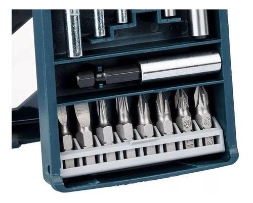 juego set mechas puntas bosch 15 piezas mini x-line