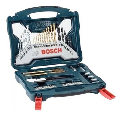 juego set mechas puntas tubos bosch 50 piezas x line