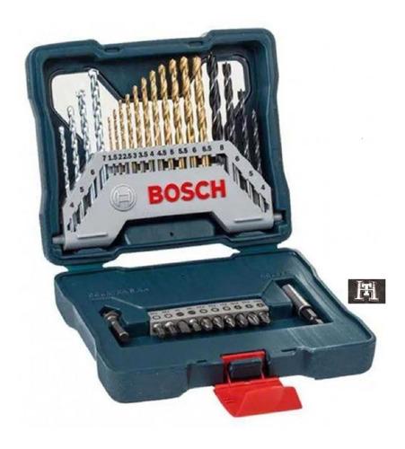 juego set mechas y puntas bosch x line 30 piezas estuche