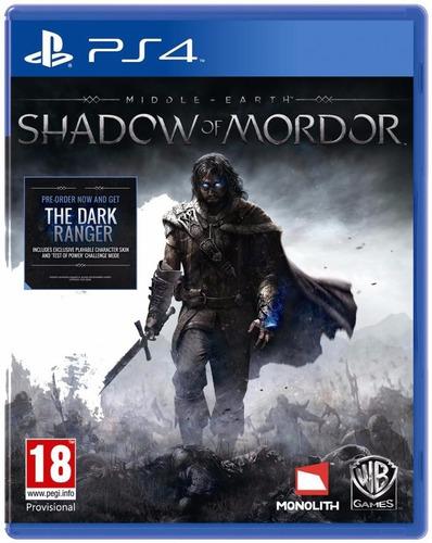 juego shadow mordor
