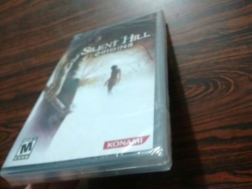 juego silent hill origins sellado!