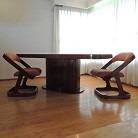 juego sillas danés vintage años 60s (varias)